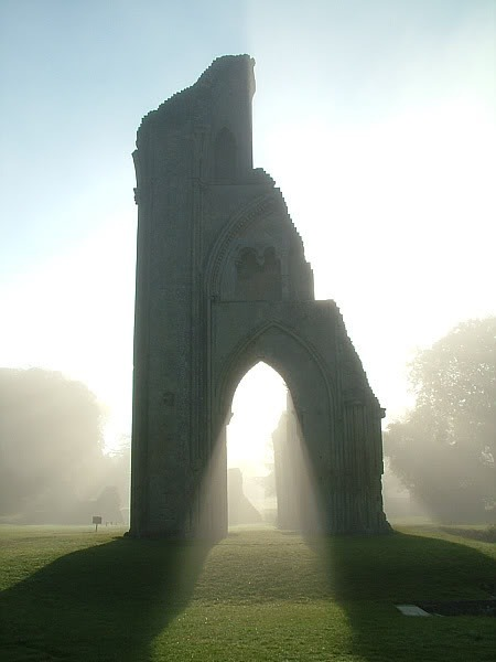 elegantspell:  Glastonbury, England - the resting place of King Arthur.
