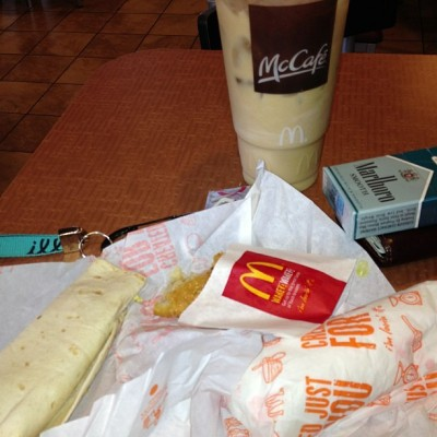 Good morning ! (at McDonald's)