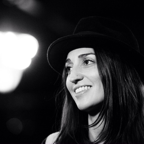 "billboard:  We spent some time with Sara Bareilles today for our new ""On The Road"" series, presented by Toshiba! (Photo by Jared Polin)"