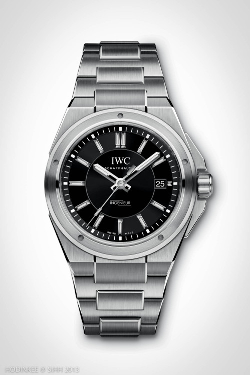 The new @IWC Ingenieur Automatic.  40mm, anti-magnetic, and affordably price.  Story here.