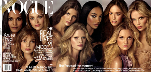 bohemea: Vogue - Faces Of the Moment by Steven Meisel, May 2009
