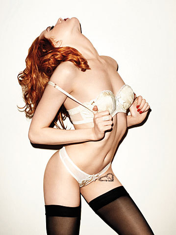 thehottest:  bohemea: Evan Rachel Wood - GQ by Terry Richardson, May 2009