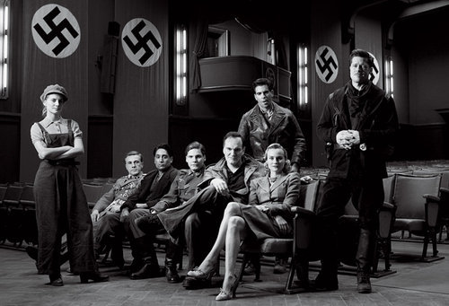 yourfavoriteredhead:  flickflickflicker: inglourious basterds (2009).  I don't care how good or bad the movie will be, this picture is so boss.