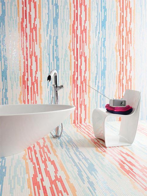 (via sweethomestyle)  Those tile would make me sing in the tub.