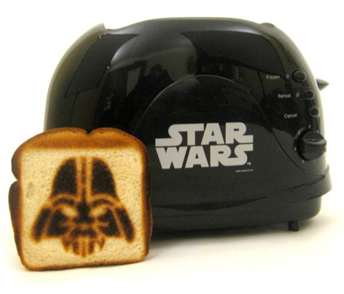 Darth Vader toaster! This rules. (via Underwire)