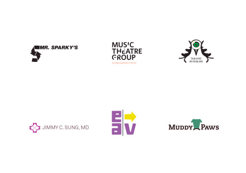 Various branding and logos of late…