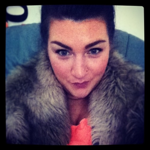 Faux fur and fluoro. #werkit