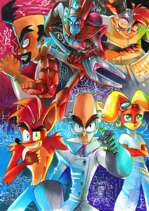 http://strixic.deviantart.com/#/art/Crash-Bandicoot-The-Six-358486335?_sid=59bdf23b