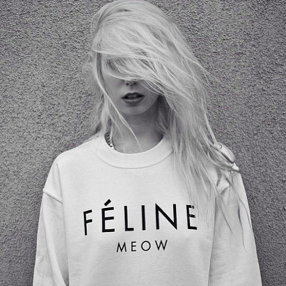 ultimatebeauties:  GET THE FELINE SWEATER HERE→ every item you order from the ultimatebeauties fashion collection, gives you a free weeks worth of advertisement for your blog/website (bonus: gain lot's of followers) learn more→