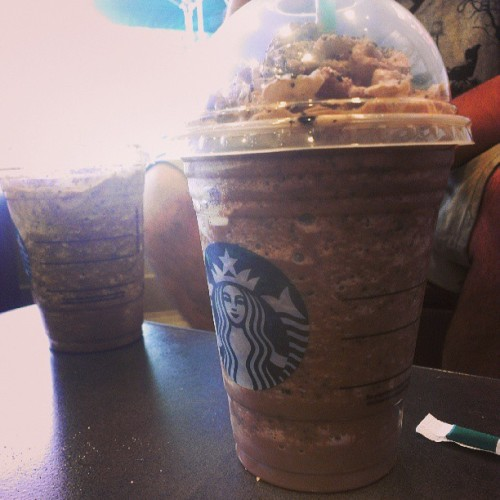 Starbucks Cookie Crumble! .____. #delicious #New #Starbucks #instagood