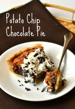 gastrogirl:  potato chip chocolate pie.