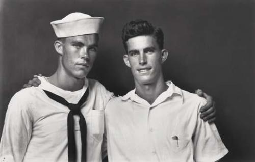 indypendent-thinking:  MICHAEL DISFARMER,  Sailor and Friend, 1940s (via PHILLIPS)