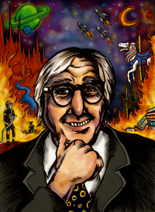Ray Bradbury was a cool dude.