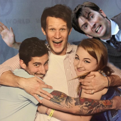 I did end up meeting Matt Smith as well… and… well, David got jealous.