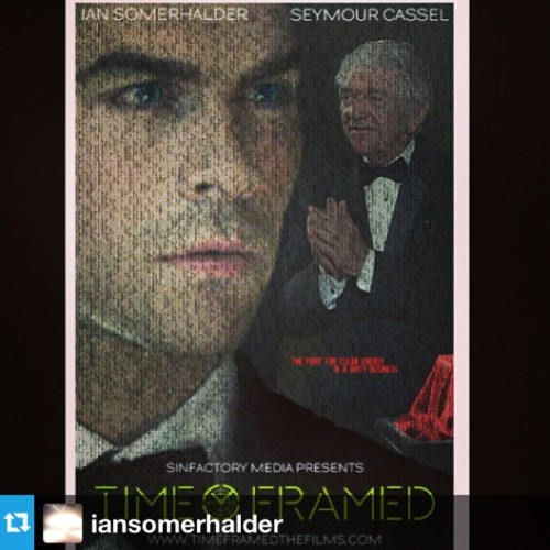 #Repost from @iansomerhalder with @repostapp #timeframed #movie #savetheenvironment ✔