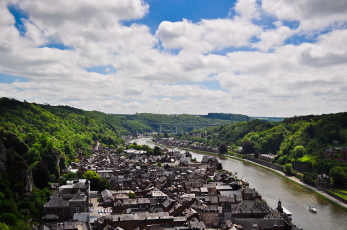 Above the Little Town - Dinant, Belgium
