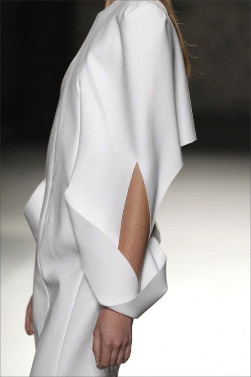 nannasandrabrogevestergaard:  Futuristic Look / Futuristic Fashion, martinez lierah aw1213 dirtyflaws. on We Heart It - http://weheartit.com/entry/46559932/via/nanna_vestergaard