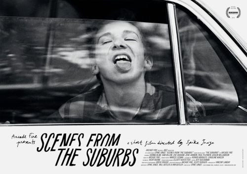 citrum:  the—seventh—art:  Poster for Scenes from the Suburbs (2011), a shortfilm by Spike Jonze