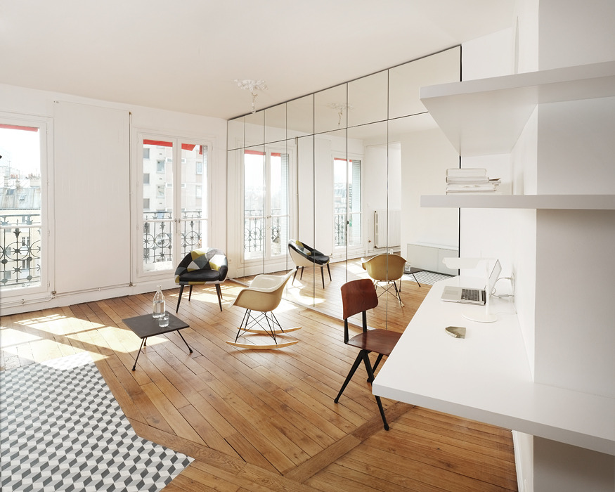 How to restore a Parisian Haussmanian apt
