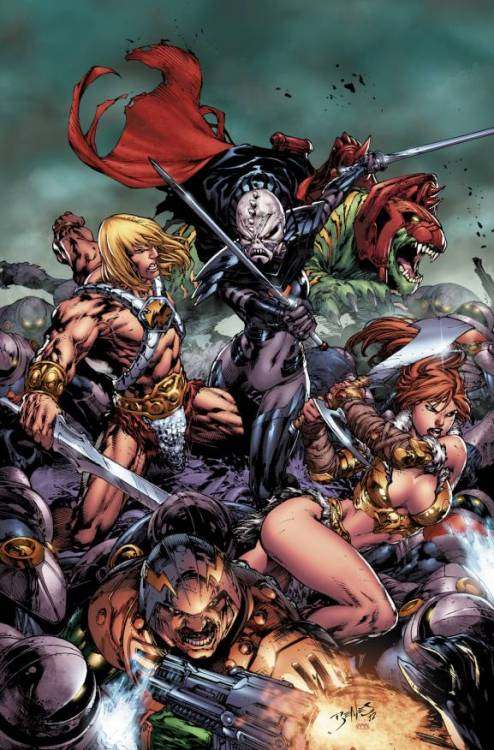 EXCLUSIVE: DC Comics To Publish Masters Of The Universe Ongoing!