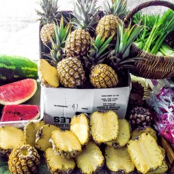 australia summer fitspo fruit healthy tropical pineapple watermelon eat clean raw vegan clean eating 801010 lonijane