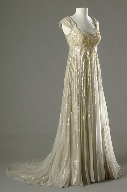 Costume designed by Rene Hubert and Charles Lemaire for Merle Oberon in Desiree (1954). From the Bibliotheque du Film