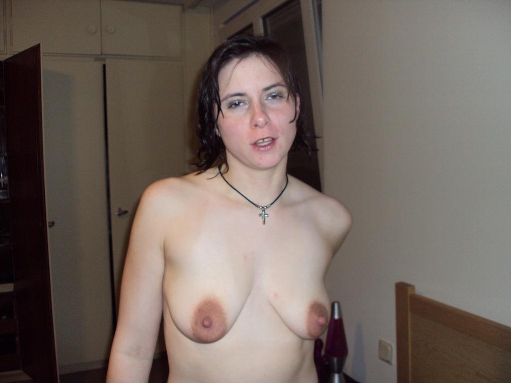 My mom has big saggy tits