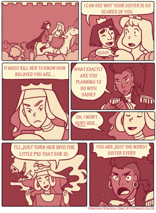 Princess Princess Comic Page 34 Read the rest here!