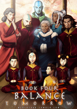 My art Aang Korra legend of korra lok book 4 Book 4 countdown lok countdown IM SORRY THIS IS LATE my power was out for a day ;_;