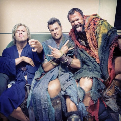 fydanfeuerriegel:  Todd, me and Barry chillin behind the scenes !!!! | x