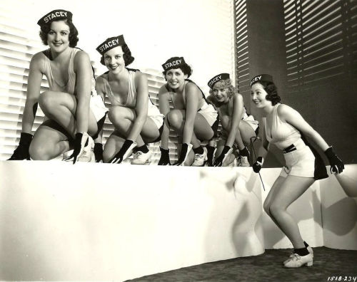 screengoddess:  Paramont Chorus Girls 1930's
