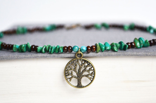 Hippie Tree of Life Necklace lovenlavish.etsy.com