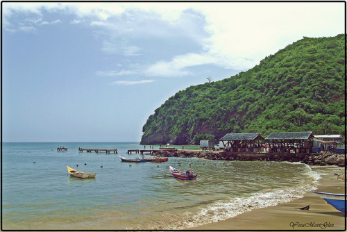 Muelle de Río Caribe on Flickr.A través de Flickr: Venezuela, Estado Sucre
