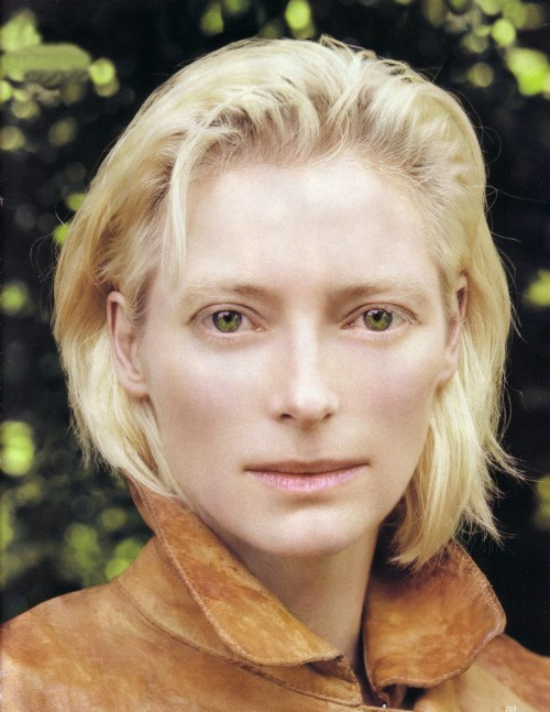 bohemea:  Tilda Swinton - Vogue UK by Corinne Day, December 2005