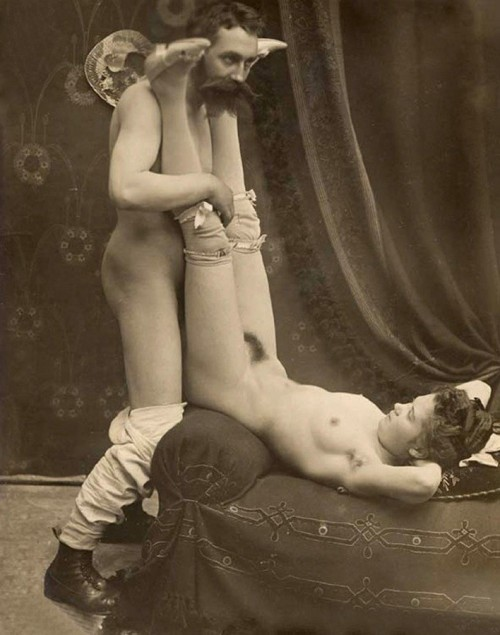 A compromising position.