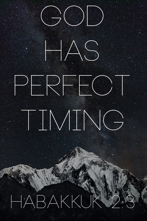 "spiritualinspiration:  ""For the vision is yet for an appointed time…though it tarries, wait for it"" (Habakkuk 2:3, KJV).  God has an appointed time to fulfill the visions, dreams, and desires in your heart. Just because it has taken a long time or because you've tried and failed doesn't mean it's not going to happen. Don't give up on those dreams! Don't be complacent about pursuing what God has placed in your heart. Our God is a faithful God. No matter how long it's been, no matter how impossible things look, if you'll stay in faith, your set time is coming.  Remember, every dream that's in your heart, every promise that has taken root, God put it there. Not only that, but He has every intention of bringing it to pass. Hold on to that vision today. Declare by faith, ""My time is coming. God is working behind the scenes on my behalf. I will fulfill my destiny!"" As you continue to hold on to that vision and speak life over your dreams, it won't be long before you see them begin to take shape. You'll see your faith grow, you'll see your hope strengthen, and you'll see yourself step into the destiny God has prepared for you!"