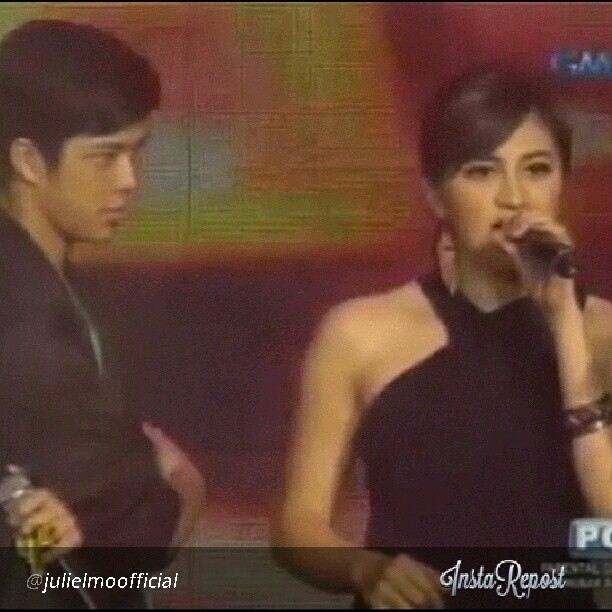 jeedeejee:  hinay hinay lang moe…baka matunaw haha @elmomagalona @myjaps #repost #JuliElmo #redmaskmedley #PPTakeABow #salamatpp #ElmoMagalona #JulieAnneSanJose #JuliElmoProd #productionnumber #prod #ilike #followme #likesforfollow #photogrid #photocollage #photooftheday #potd #picture #instapic #instavain #instalove #instashare #ig #igers #igManila #collage #asian