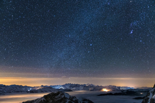 obnatus:  One Night on the Pilatus by Philipp Häfeli