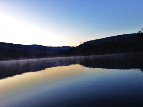 avermonterinthecity:  Beautiful morning fishing on Oliverian Pond.