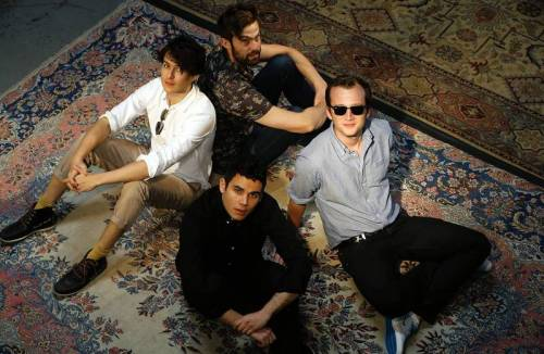 "LA Times: ""Vampire Weekend braces for bright lights with big-idea 'City' album"" (photo by Luis Sinco/LA Times)"