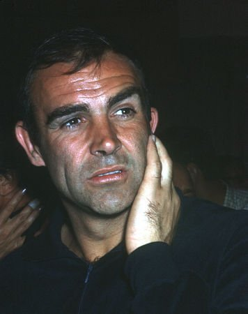 "Sean Connery at ""King Rat"" Party at Whiskey A Go Go, 1965."