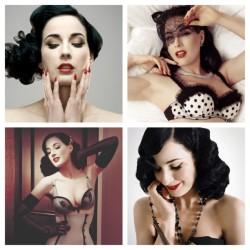 justjackieofficial:  Perfect. #womancrushwednesday #wcw #burlesque #ditavonteese