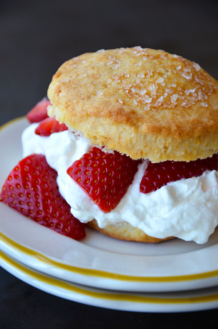 renaissance05:  Easy Strawberry Shortcake with Whipped Cream on We Heart It - http://weheartit.com/entry/62224842/via/renaissance05 Hearted from: http://www.justataste.com/2013/05/easy-strawberry-shortcake-whipped-cream-recipe/