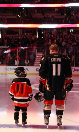 Saku & his son, awww