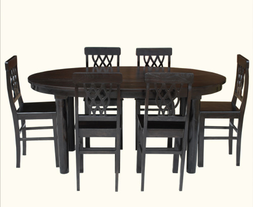 Say hello to the Portland Contemporary Oval Table & Pineapple Back Chairs. Is contemporary furniture your style or do you prefer a more traditional look? http://bit.ly/19WkBHA