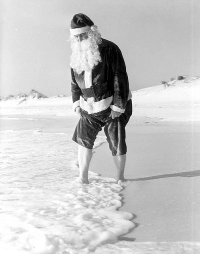 Santa Claus at Panama City Beach, Florida by State Library and Archives of Florida on Flickr.