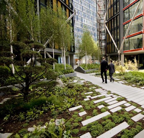 archdaily:  Gardens at NEO Bankside by Rogers Stirk Harbour + Partners (via ArchDaily)