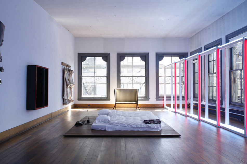 A Perfect Space  Purchased in 1968 for $68,000 by Donald Judd, this building (yes, the entire thing) was the lauded American abstract artist's home and studio for over two decades, until passing away in 1994. To fund a $23 million overhaul of the space, preserving both the cast-iron exterior and an interior filled with countless personal effects, the Donald Judd Foundation sold off art from the collection to pay for restoration efforts. The result can be seen in person for those of you in New York City, with public tours starting in June. The building is a tribute to the artistic hotbed that SoHo once was, and the massive amount of space it had provided to foster it. (Photo courtesy of Curbed. Text by Jenny Bahn)