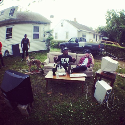 mikealis:  Music video shoot location number 2 #Hampton @donmimosa
