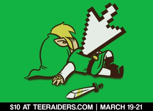 """Dead Link"" by Italiux is $10 at TeeRaiders.com from March 19-21! Get it on tshirts, hoodies, and prints for 3 days only."